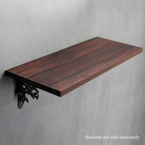 """Wall Shelf 18mm Mahogany Shiny 36"""""""