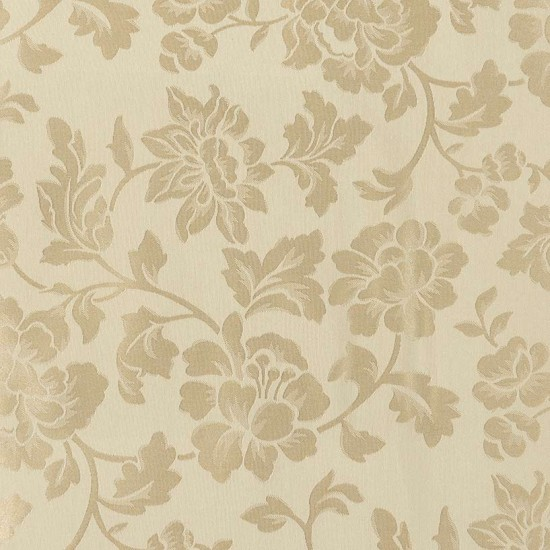 Fabric Floral Jacquard 54 Beige