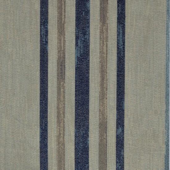 "Fabric Nancy Stripe 54"" Navy"