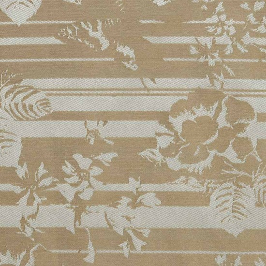 "FAB FLORAL TEXTURE 56"" IVORY"