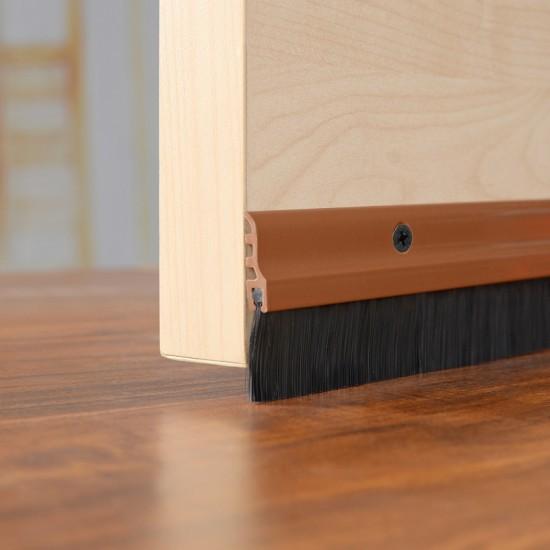 """Door Seal Chocolate - 37"""" Long - Deco Home"""