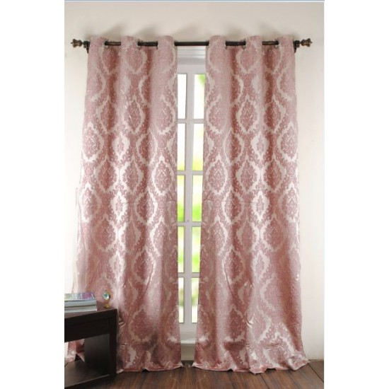 Curtain Delight Dusty Rose 8ft