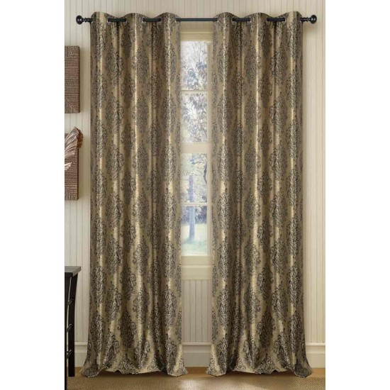 Curtain Ganga Beige 90""