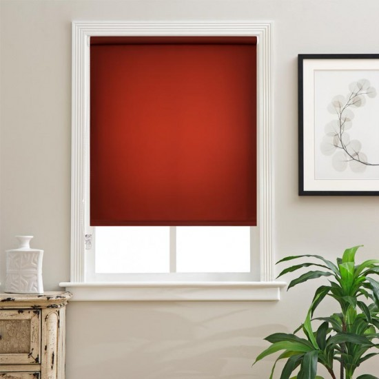 "Roller Blind 48"" (4 x 7) Red Ochre"