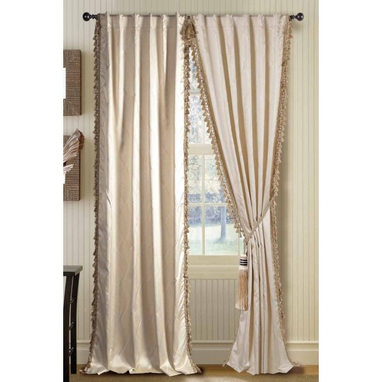 "Curtain Romani Beige 108"""