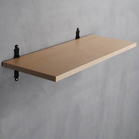 wooden shelving brackets