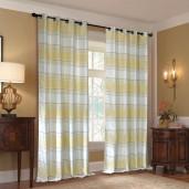 """Curtain Jigisha Ivory/Light Lemon 90"""""""