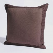 "Cushion Cover 16"" X 16"" Gaurika Chocolate"