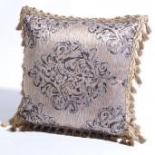 "Deco Home Cushion Cover Ganga 16"" X 16 "" Moonlight"