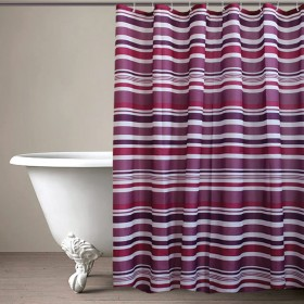 "CURT GRM 71""MULTI AMTHYST LT (shower curtain)"