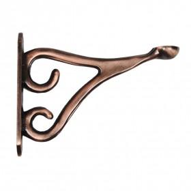 Shelf Bracket Romantic 15 cm X 19 cm Antique Copper