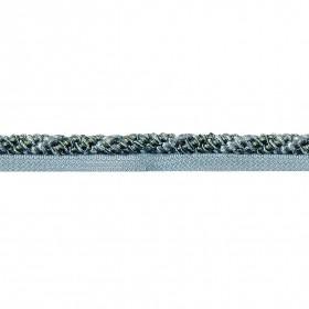 Cord Gazal With Lip 8 mm Blue Green Mix (Trims)