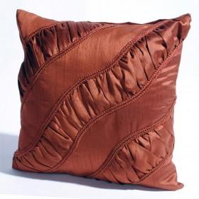 "Deco Home Cushion Cover 16"" X16"" Light Terracotta"