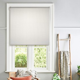 Chic Roller Blind for Window or Door Ivory (Blinds