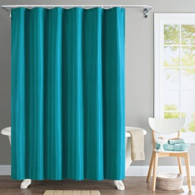 "Shower Curtain 72""x 84"" Solid Wave"