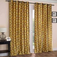 Curtain Ikat (Set of 2) Mimosa