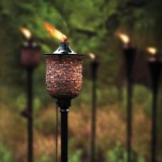 Mosaic Tulip Garden Torch/Marshal(Set of 2)