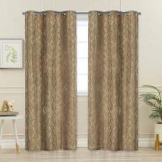 """Curtain Victoria Dark Beige 96"""""""