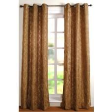 """Curtain Victoria Dark Beige 84"""" (Set of 2)"""