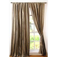 """Curtain Riya 96"""" Black"""