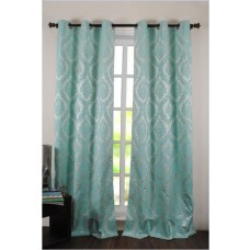 "Curtain Delight 96"" Light Blue"