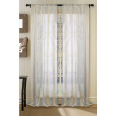 """Curtain Sheer Champagne 108"""""""