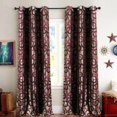 Single 5 ft Curtain Jacquard Wine Chain