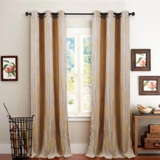 Single 7.5 ft Curtain Decor Champagne