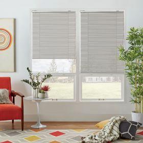 "Venetian Blinds for Windows (52"" Wide X 84"" Long, Grey)"