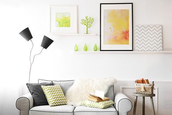 corner wall shelves