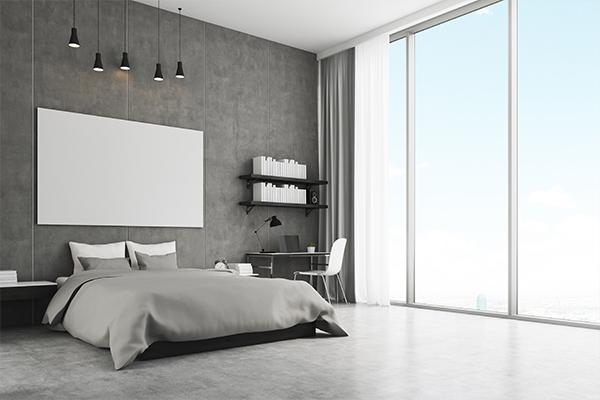 bedroom shelves
