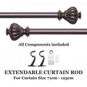 double curtain rod