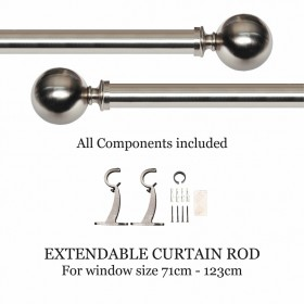 window curtain rods