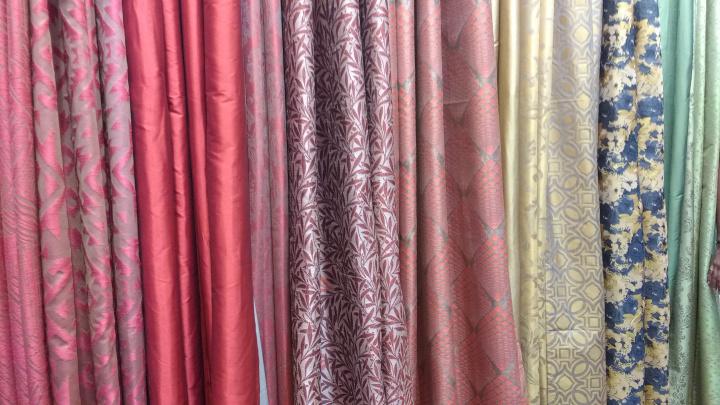 deco window curtains